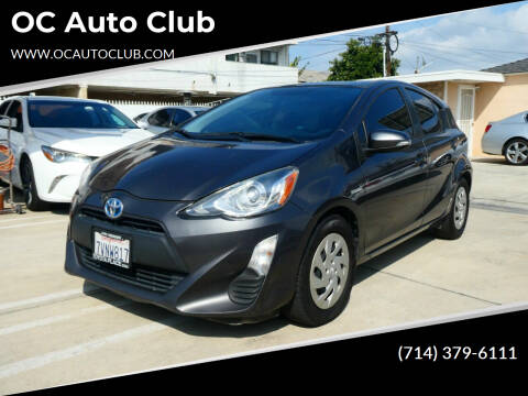 2016 Toyota Prius c for sale at OC Auto Club in Midway City CA