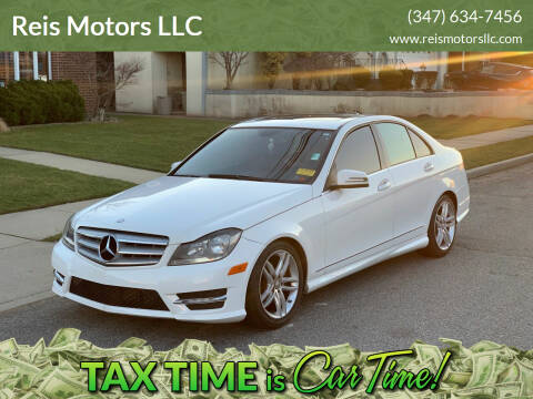 2013 Mercedes-Benz C-Class for sale at Reis Motors LLC in Lawrence NY