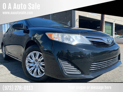 2013 Toyota Camry for sale at O A Auto Sale in Paterson NJ