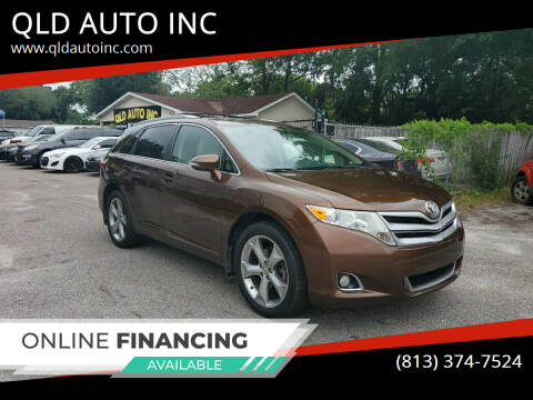 2013 Toyota Venza for sale at QLD AUTO INC in Tampa FL
