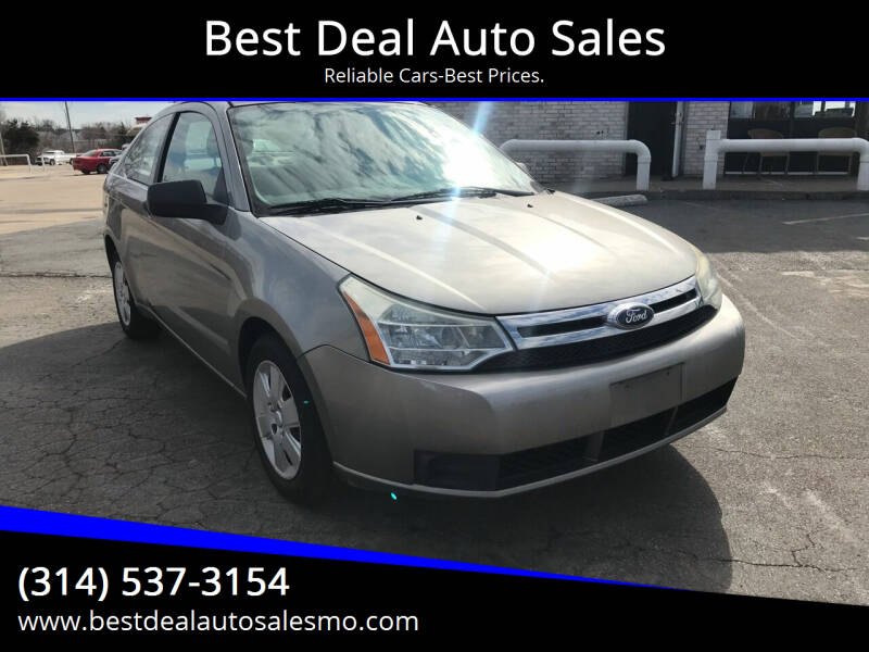 2008 Ford Focus for sale at Best Deal Auto Sales in Saint Charles MO