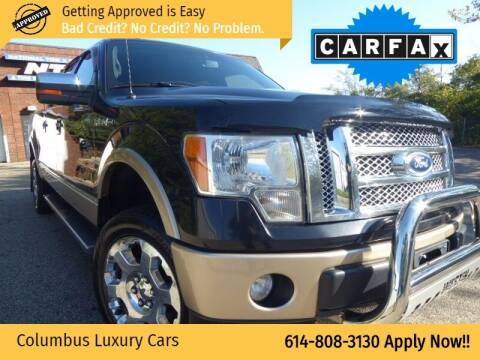 2012 Ford F-150 for sale at Columbus Luxury Cars in Columbus OH
