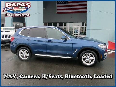 2018 BMW X3 for sale at Papas Chrysler Dodge Jeep Ram in New Britain CT