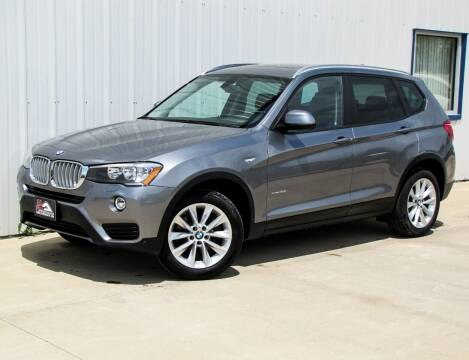 2017 BMW X3 for sale at Lyman Auto in Griswold IA