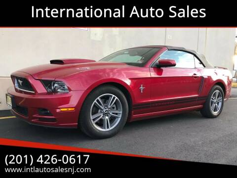 2013 Ford Mustang for sale at International Auto Sales in Hasbrouck Heights NJ