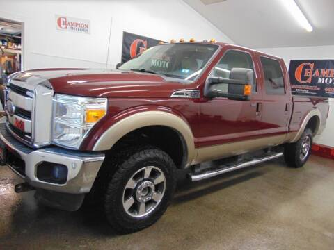 2012 Ford F-350 Super Duty for sale at Champion Motors in Amherst NH
