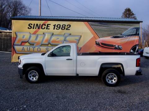 2018 GMC Sierra 1500 for sale at Pyles Auto Sales in Kittanning PA