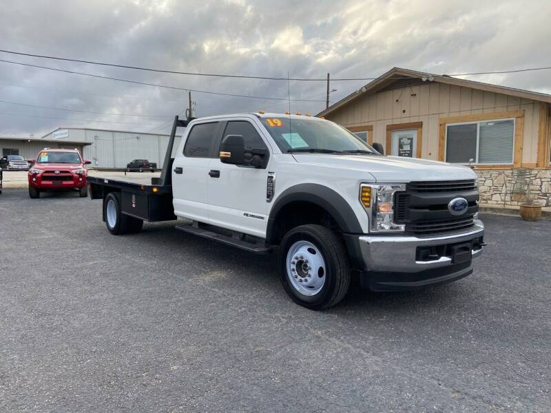 2019 Ford F-550 Super Duty for sale at The Trading Post in San Marcos TX