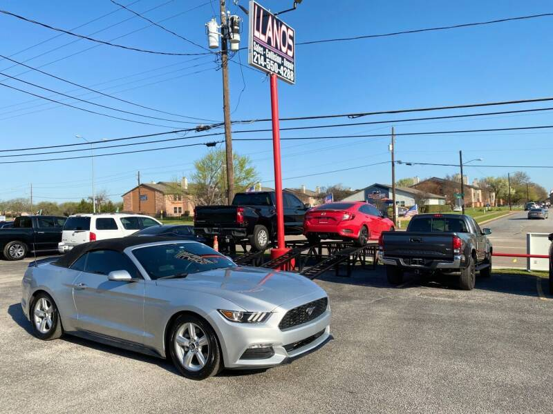 2016 Ford Mustang for sale at LLANOS AUTO SALES LLC - JEFFERSON in Dallas TX