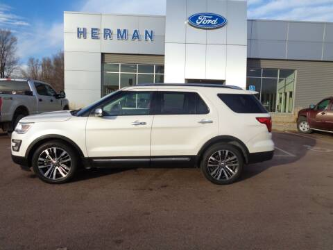 2016 Ford Explorer for sale at Herman Motors in Luverne MN