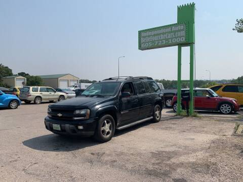 2004 Chevrolet TrailBlazer EXT for sale at Independent Auto in Belle Fourche SD
