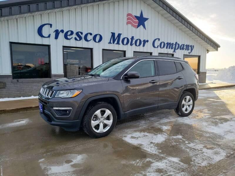 2018 Jeep Compass for sale at Cresco Motor Company in Cresco IA