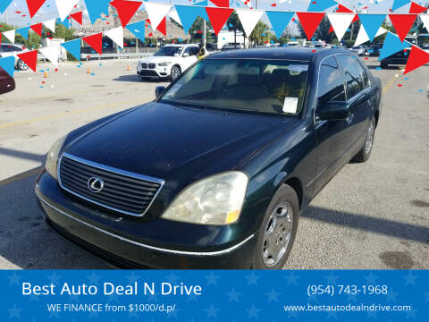 2001 Lexus LS 430 for sale at Best Auto Deal N Drive in Hollywood FL