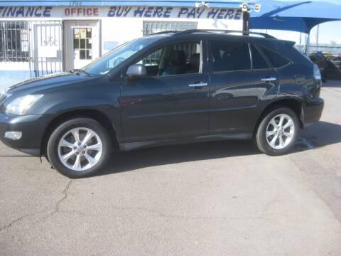 2009 Lexus RX 350 for sale at Town and Country Motors - 1702 East Van Buren Street in Phoenix AZ