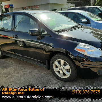 2010 Nissan Versa for sale at All Star Auto Sales of Raleigh Inc. in Raleigh NC