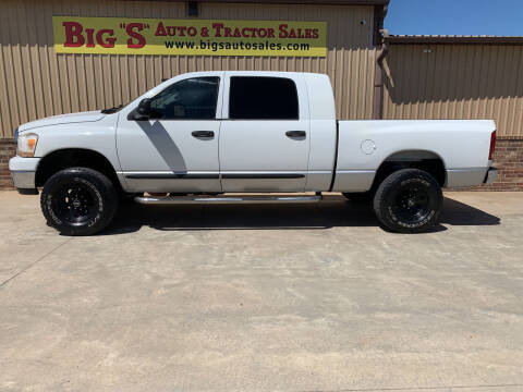 2006 Dodge Ram Pickup 1500 for sale at BIG 'S' AUTO & TRACTOR SALES in Blanchard OK