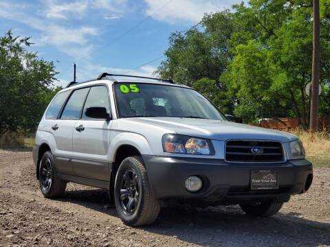 2005 Subaru Forester for sale at FRESH TREAD AUTO LLC in Springville UT