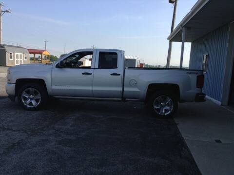 2017 Chevrolet Silverado 1500 for sale at Kevin's Motor Sales in Montpelier OH