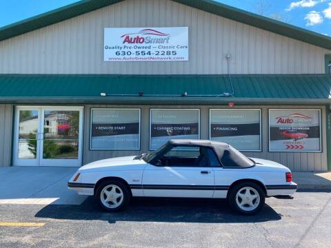 1984 Ford Mustang for sale at AutoSmart in Oswego IL