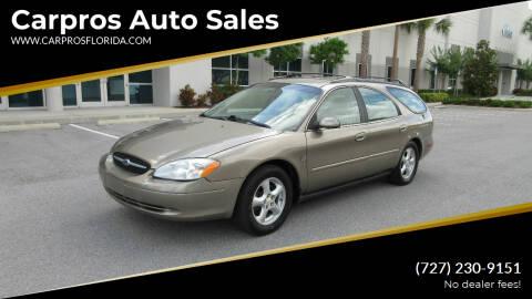 2002 Ford Taurus for sale at Carpros Auto Sales in Largo FL