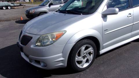 2006 Pontiac Vibe for sale at Eagle's Wings Auto Sales in Hilton NY
