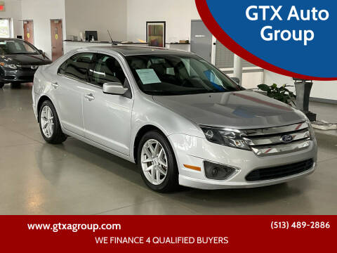 2012 Ford Fusion for sale at GTX Auto Group in West Chester OH