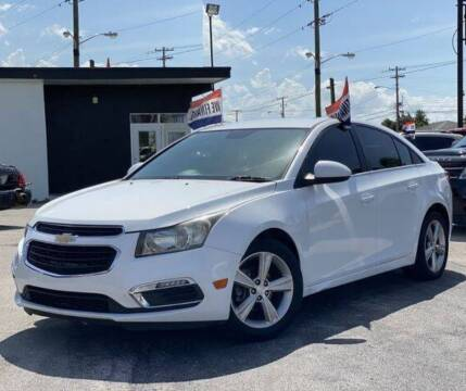 2015 Chevrolet Cruze for sale at BC Motors PSL in West Palm Beach FL