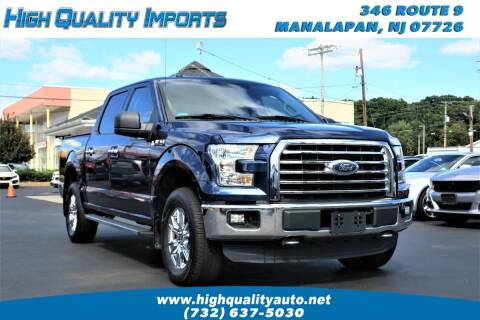2016 Ford F-150 for sale at High Quality Imports in Manalapan NJ