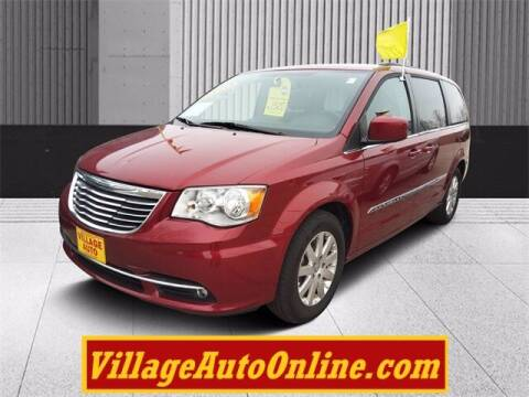 2016 Chrysler Town and Country for sale at Village Auto in Green Bay WI
