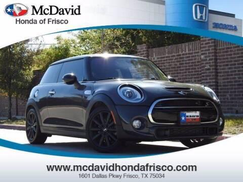 2015 MINI Hardtop 2 Door for sale at DAVID McDAVID HONDA OF IRVING in Irving TX