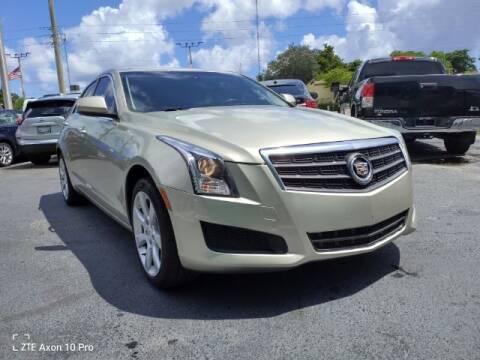 2013 Cadillac ATS for sale at Start Auto Liquidation Center in Miramar FL