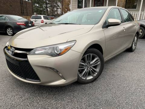 2015 Toyota Camry for sale at Georgia Car Shop in Marietta GA