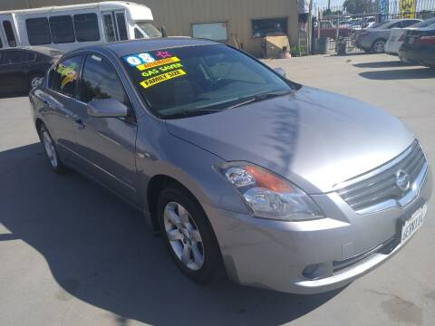 2008 Nissan Altima Hybrid for sale at Affordable Auto Finance in Modesto CA