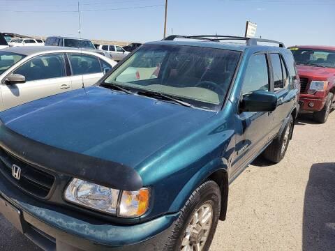 2002 Honda Passport for sale at PYRAMID MOTORS - Pueblo Lot in Pueblo CO