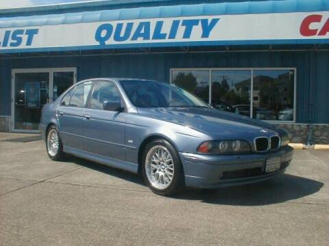2003 BMW 5 Series for sale at Dick Vlist Motors, Inc. in Port Orchard WA