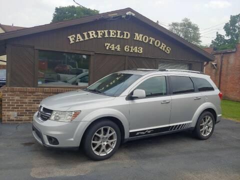 2011 Dodge Journey for sale at Fairfield Motors in Fort Wayne IN