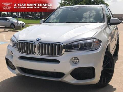 2017 BMW X5 for sale at European Motors Inc in Plano TX