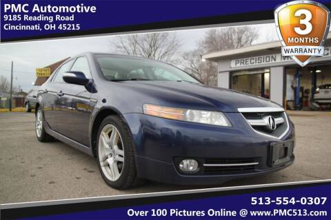 2007 Acura TL for sale at PMC Automotive in Cincinnati OH