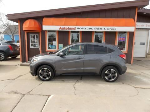2018 Honda HR-V for sale at Autoland in Cedar Rapids IA