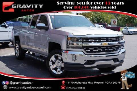 2018 Chevrolet Silverado 1500 for sale at Gravity Autos Roswell in Roswell GA