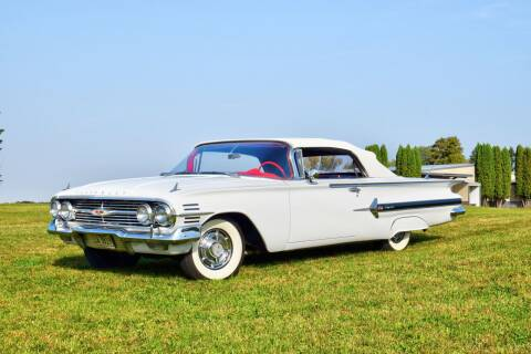 1960 Chevrolet Impala for sale at Hooked On Classics in Watertown MN