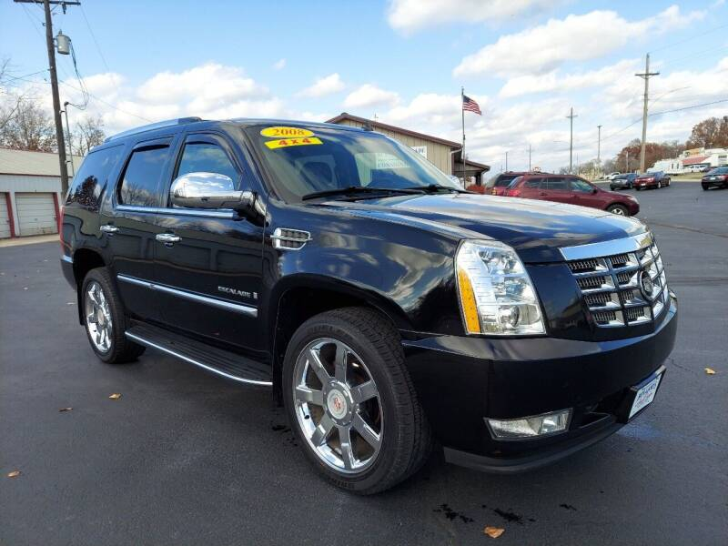 2008 Cadillac Escalade for sale at Holland's Auto Sales in Harrisonville MO