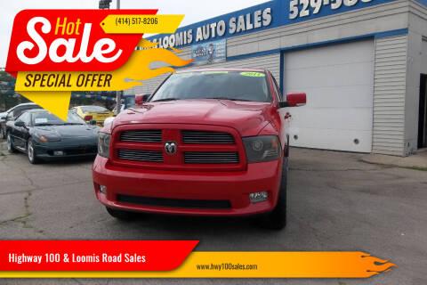 2011 RAM Ram Pickup 1500 for sale at Highway 100 & Loomis Road Sales in Franklin WI