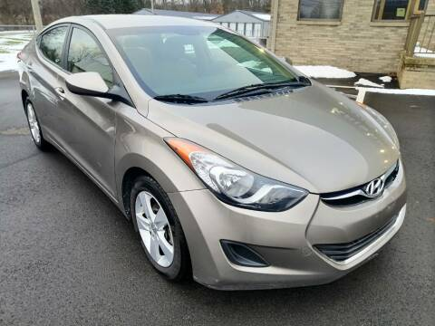 2013 Hyundai Elantra for sale at KRIS RADIO QUALITY KARS INC in Mansfield OH