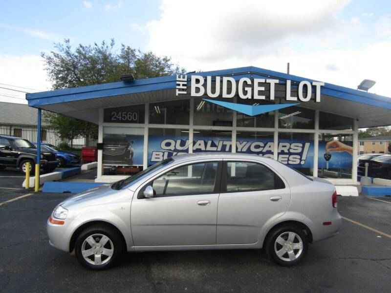 2006 Chevrolet Aveo for sale at THE BUDGET LOT in Detroit MI