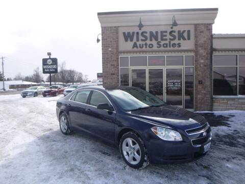 2010 Chevrolet Malibu for sale at Wisneski Auto Sales, Inc. in Green Bay WI
