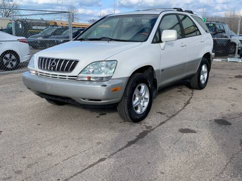 2001 Lexus RX 300 for sale at HIGHLINE AUTO LLC in Kenosha WI