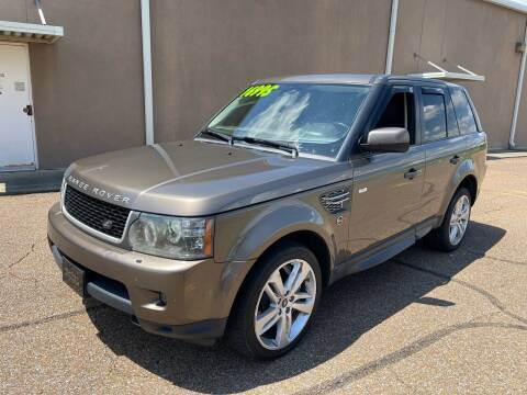 2010 Land Rover Range Rover Sport for sale at The Auto Toy Store in Robinsonville MS