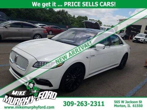 2020 Lincoln Continental for sale at Mike Murphy Ford in Morton IL