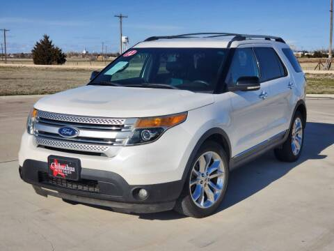 2012 Ford Explorer for sale at Chihuahua Auto Sales in Perryton TX